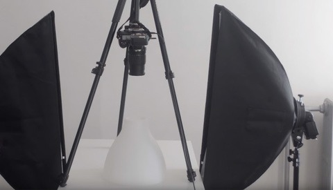 Using an IKEA Lampshade to Create Beautiful Product Photos