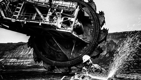 Behind the Scenes With Massive Machinery and Landscapes