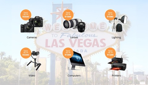 Photo and Video Gear Deals Now Live on B&H