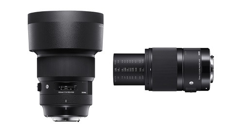 Sigma Announces 105mm f/1.4 Art and 70mm f/2.8 Macro Art Lenses