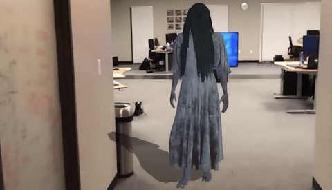 One of the Cooler Uses of Augmented Reality Will Scare the Daylights out of You