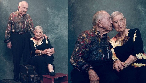 Inspiring Photo Series Captures Touching Images of Couple Married 70 Years