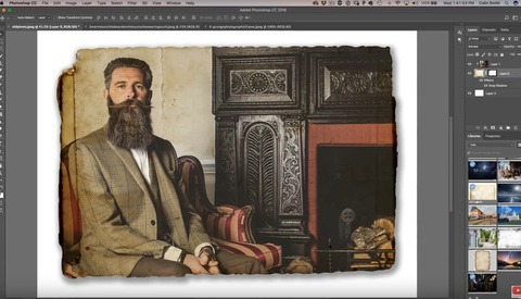 Create Your Custom Edges Quickly in Photoshop