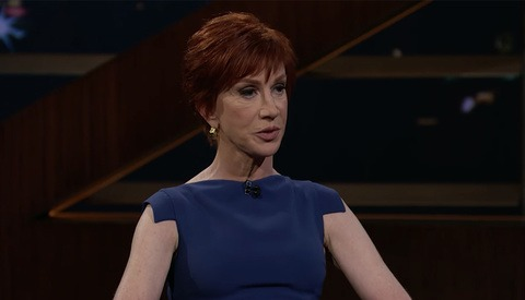 Bill Maher Interviews Kathy Griffin About Her Infamous Beheaded Trump Photoshoot, Blames Photographer