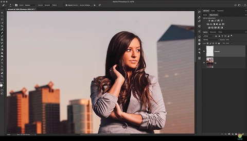 How to Remove Stray Hairs in Photoshop