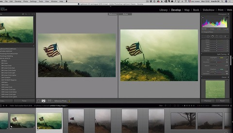 How to Rescue Poor Weather Images Using Lightroom