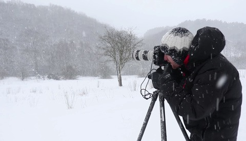 Blizzard Photography Looks Like Fun