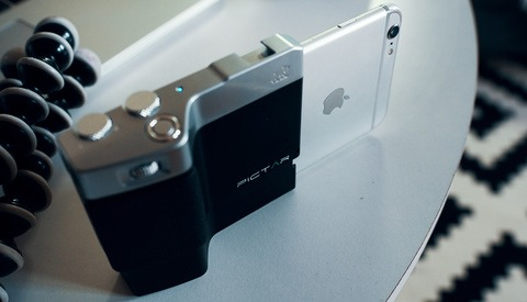 Give Your iPhone DSLR-Like Ergonomics with the Miggö Pictar