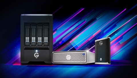 G-Technology Announces Mobile and Desktop Professional SSD Storage Options