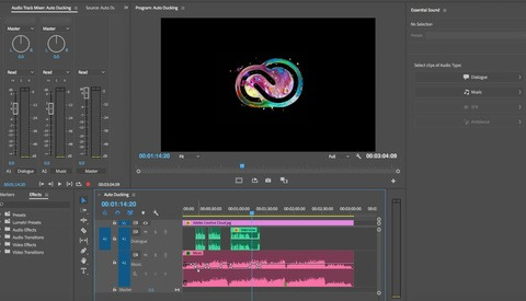 How to Use Auto-Ducking in Premiere Pro to Improve the Audio Quality of Your Videos
