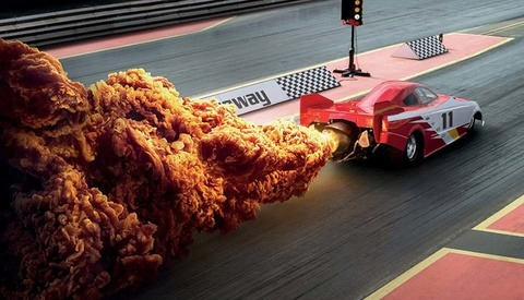 KFC Gets Creative Using Chicken in Place of Explosions for New Ad Campaign