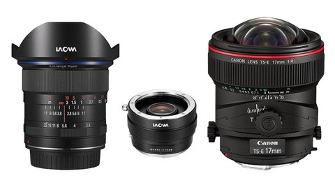 Laowa 12mm F/2.8 W/ Magic Shift Converter Versus Canon TS-E 17mm F/4L