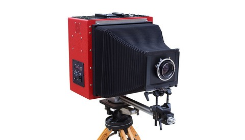 What Would You Do With This Massive 9x11 Large-Format Digital Camera?