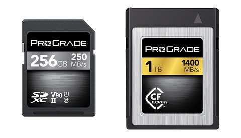 ProGrade Digital Demonstrates First CFexpress 1.0 Cards and More