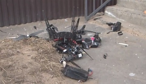 Russia Debuted First Postal Drone and It Promptly Crashed in to a Wall