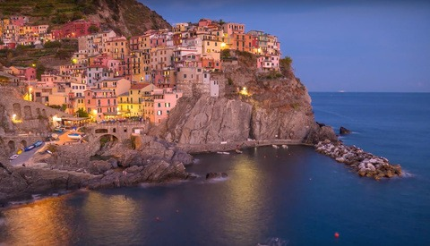 Michael Shainblum's New Time-Lapse: Glimpse of Cinque Terre