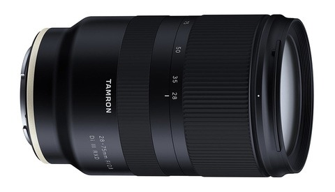 Tamron Announces the 28-75mm f/2.8 Di III RXD Lens for Sony E Mount, An Affordable Alternative