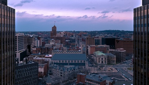 Syracuse Meets the Inspire 2: A Film by Tom Drone
