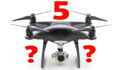 Are the Leaked Images of a DJI Phantom 5 With an Interchangeable Lens Camera Credible? [Updated]