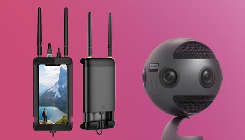 Insta360 Announces Wireless Video System