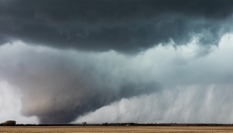 Time-Lapse Photographer Captures Tornado Forming Right in Front of His Camera