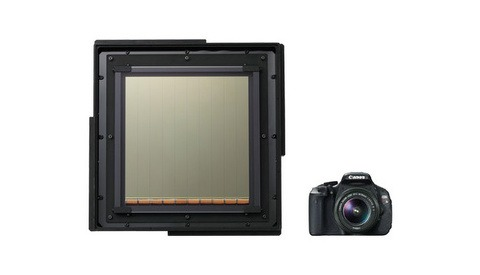 Canon Produces World's Largest CMOS Sensor
