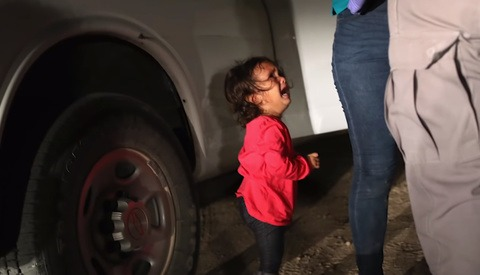 The Story Behind the Viral Photo of a Crying Child at the Border