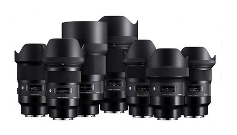 Sigma's New Art Lineup for Sony E Mount