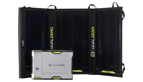 Get This Complete Battery, Inverter, and Solar Panel Kit for Almost Half Off and Keep Your Camera Gear Charged