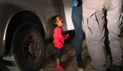 Media Manipulation: Father of Infamous 'Crying Girl' Confirms She Was Not Separated From Family