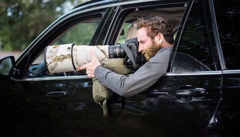 Cancer Survivor Photographs Beautiful Wildlife Images From His Car Window