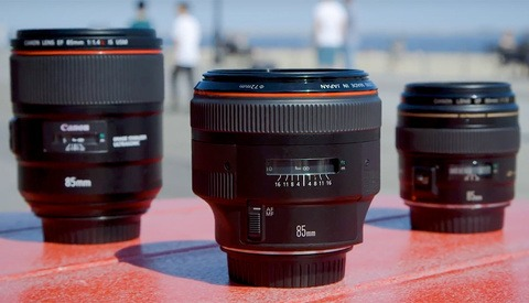 Canon's 85mm f/1.2, 85mm f/1.4, and 85mm f/1.8 Lenses Compared