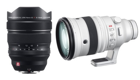 Fujifilm Announces Two New Lenses: The XF 8-16mm f/2.8 R LM WR and XF 200mm f/2 OIS WR