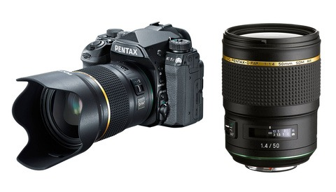 Pentax 50mm f/1.4 Lens Announced