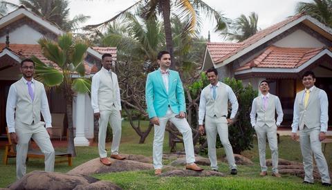 Shooting the Groomsmen in a Wedding