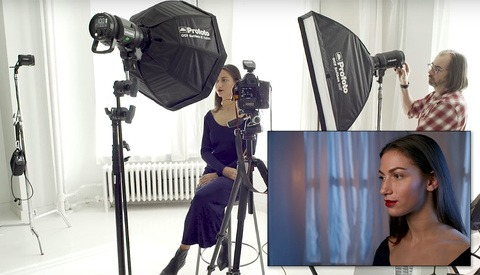 BTS: Using Color Gels to Turn Daytime Into Nighttime