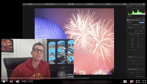 Tips for Editing Fireworks With Luminar 2018