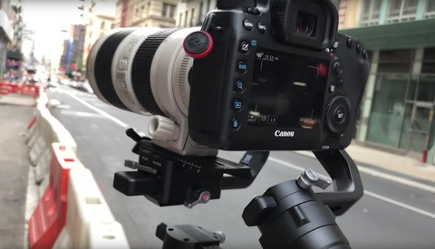 Mounting a 70-200mm Lens on the Ronin S