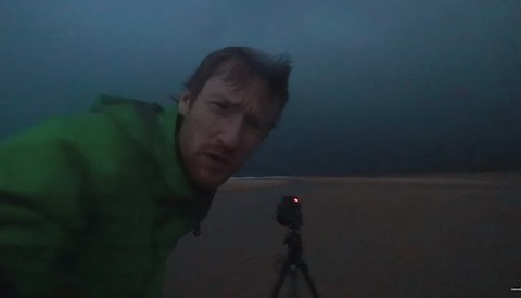 Photographer Terrified Shooting a Large Storm