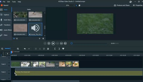 Adding Music to Video With ACDSee Video Studio 3