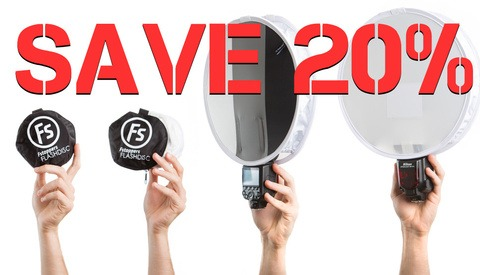 Labor Day Sale: Save 20% On the Fstoppers Flash Disc Light Modifier