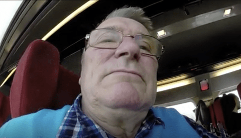Hilarious Video Results After Man's Father Films Entire Trip With Camera Facing the Wrong Way