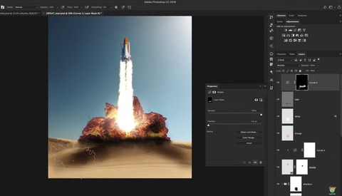 How to Create a Fried Chicken Explosion in Photoshop