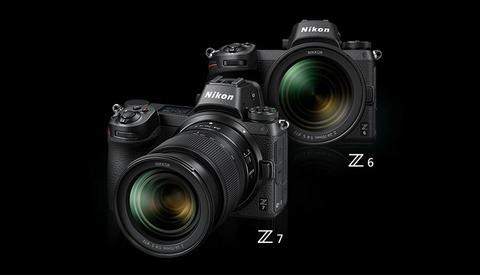 Compact LED Light Kit with Power Set for Nikon Z7 Z6 Z-7 Z-6