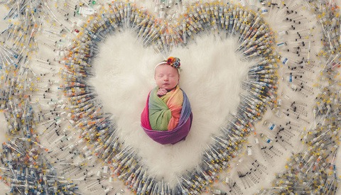 Viral Photo of Newborn Surrounded by Syringes is Reminder of the Difficulty of IVF Treatment