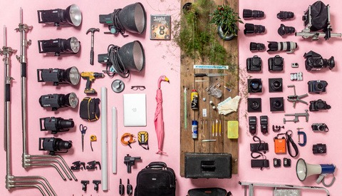 How Much Equipment Does a Professional Photographer Need?