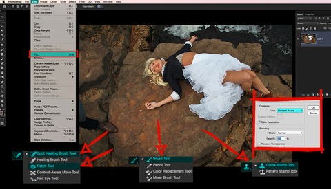 Six Ways to Remove Practically Anything in Photoshop