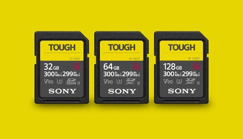 "Sony Announces ""Tough"" UHS-II SD Cards"