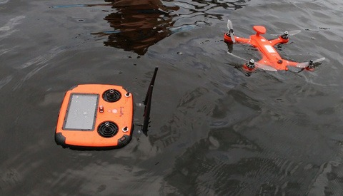 The First Ever Waterproof and Underwater Drone Doubles Its Kickstarter Target