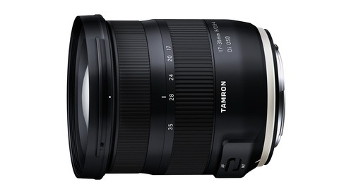 Tamron Announces the 17-35mm F/2.8-4 Di OSD Lens